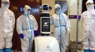 Coronavirus, in Cina i pazienti vengono gestiti dai robot