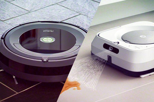 irobobot braava roomba sconto offerte robot aspirapolvere lavapavimenti