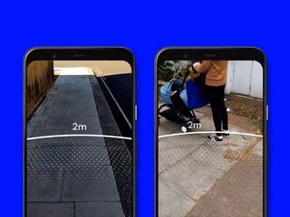 Questa app mostra sul telefono l'area di sicurezza per il distanziamento sociale