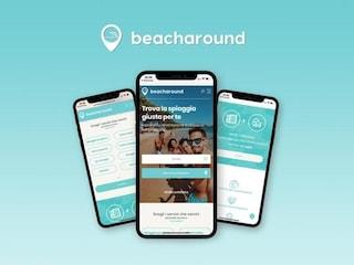 Beacharound, l'app per prenotare il posto in spiaggia (anche libera)