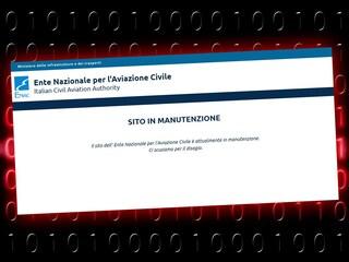 Il sito dell'Enac è vittima degli hacker: congelati i dati dei passeggeri