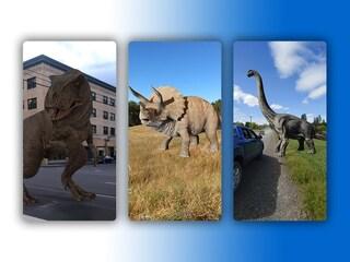 Google ti mostra i dinosauri in realtà aumentata: ecco come vederli