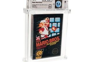 Questa copia di Super Mario è il videogioco più costoso mai venduto