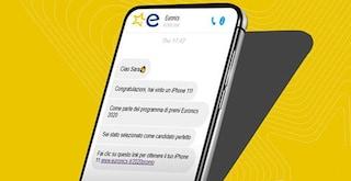 Attenzione all'SMS truffa del premio Euronics: è un virus