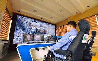 In Cina anche i minatori sono in smart working e guidano i macchinari da remoto