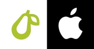 """Apple ha fatto causa a una azienda per il suo logo a forma di pera: """"Troppo simile al nostro"""""""
