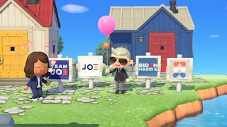Joe Biden ha iniziato a fare campagna elettorale su Animal Crossing