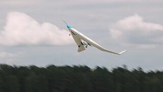 È decollato Flying-V, l'aereo che trasporta i passeggeri nelle ali