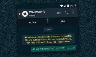 Come funzioneranno le foto e i video temporanei su WhatsApp