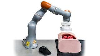 Questo robot può fare una colonscopia da solo guidando una sonda magnetica