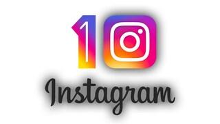 Instagram compie 10 anni oggi: tutto sulla piattaforma social