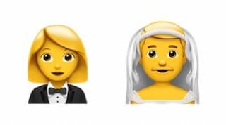 Tra le nuove emoji di iOS 14 c'è anche l'uomo in abito da sposa