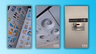 """""""Ecco le parti più disgustose di un aereo"""": i consigli dell'assistente di volo su TikTok"""
