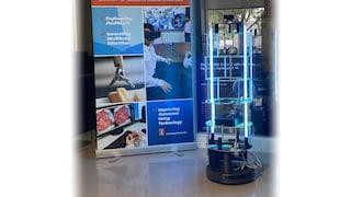 Questo robot neutralizza Covid-19 con i raggi UV e costa meno di 1.000 dollari