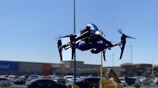 Questi droni consegnano i tamponi per Covid-19 a domicilio