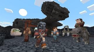 In Minecraft ora ci sono anche The Mandalorian e Baby Yoda