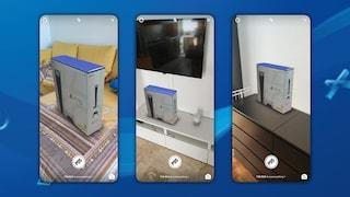 Questo filtro di Instagram materializza una PlayStation 5 nel tuo salotto
