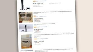 A che prezzi stanno rivendendo PlayStation 5 su eBay