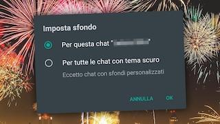 Ora su WhatsApp puoi personalizzare ogni chat con sfondi diversi: ecco come