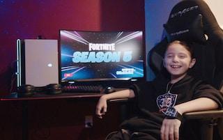 Joseph ha 8 anni e da oggi è un giocatore di Fortnite professionista