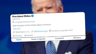Twitter azzererà i follower del nuovo Presidente USA Joe Biden