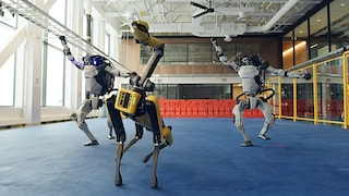 L'incredibile video dei robot di Boston Dynamics che ballano musica soul