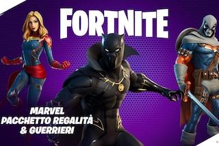 Come avere le skin di Black Panther e Captain Marvel su Fortnite