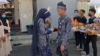 Si sposano su TikTok a 15 e 16 anni, il video è virale