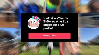 Come avere il badge del 2021 sulla foto profilo di TikTok
