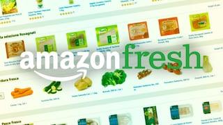 La spesa a domicilio di Amazon Fresh è arrivata in Italia, come funziona e dove è già disponibile