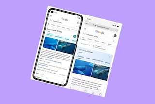 Il nuovo design di Google su smartphone