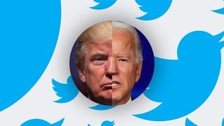 Addio Trump: da oggi il profilo Twitter del presidente USA passa a Joe Biden
