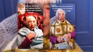 Questa tiktoker è la più anziana del mondo: ha 110 anni e il suo video è virale