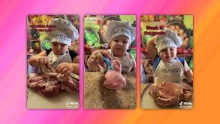 Questo chef di 2 anni e mezzo sta facendo impazzire TikTok