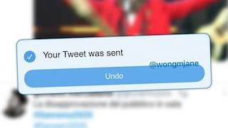 Su Twitter è pronto il tasto annulla per i cinguettii in partenza: ecco com'è e a cosa serve