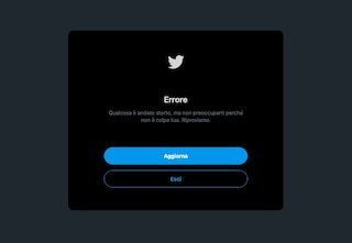 Twitter down, impossibile accedere al social network