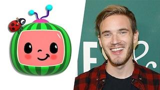 PewDiePie ora è terzo su YouTube per numero di iscritti: lo ha superato un canale per bambini