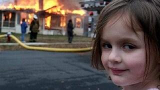 Il meme di Disaster Girl è stato venduto con un NFT, e la protagonista ora è ricca