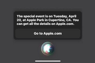 Il prossimo evento Apple è il 20 aprile (lo dice Siri)