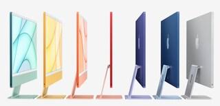 I nuovi iMac sono coloratissimi e hanno il nuovo processore di Apple