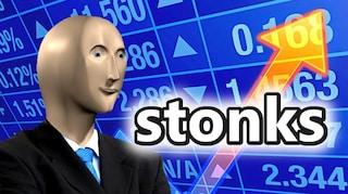 La storia di Stonks, il meme azionario che ora è una skin di Fortnite