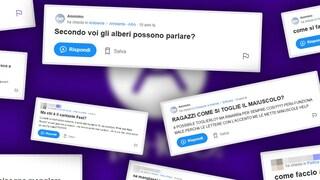 Le domande più assurde fatte su Yahoo Answers