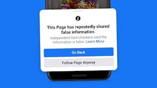 Facebook ti sconsiglierà di seguire le pagine che diffondono fake news