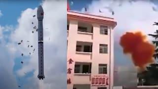 Perché i razzi cinesi continuano a cadere senza controllo (e a minacciare la vita delle persone)