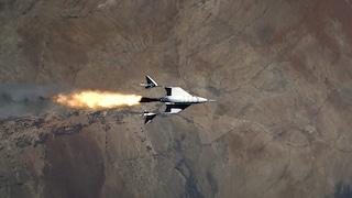 Virgin Galactic ha lanciato un razzo turistico nello spazio: il video del volo