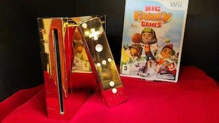Questa Nintendo Wii in oro è stata regalata alla regina Elisabetta: ora è in vendita su eBay