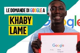 """Khaby Lame risponde alle domande di Google: """"Alle case popolari non avevamo niente ma avevamo tutto"""""""
