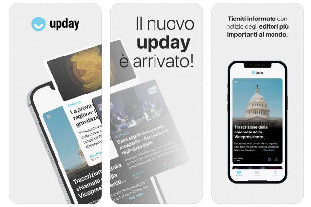 UPDAY, l'app che sceglie le notizie con un algoritmo è disponibile anche su iPhone