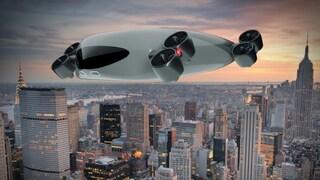 Questo autobus volante ti porterà da una città all'altra insieme a 40 passeggeri