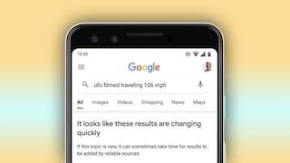 Google ti dirà quando è meglio non fidarti dei suoi risultati